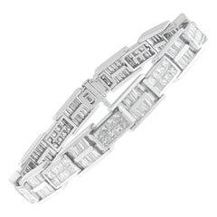 14K White Gold 10 5/8ct TDW Diamond Tennis Bracelet 'H-I,SI1-SI2'