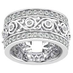 14k White Gold Charlotte Royal Diamond Ring '1 1/2 Ct. Tw'