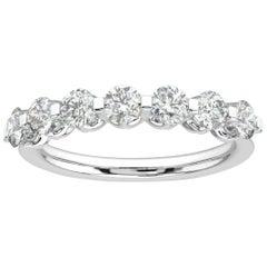 14k White Gold Orly Diamond Ring '1 Ct. tw'