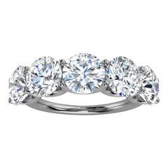14K White Gold Sevilla Diamond Ring '5 Ct. Tw'