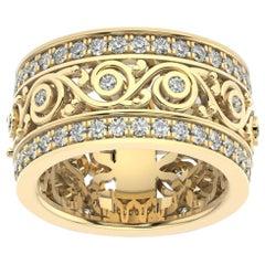 14k Yellow Gold Charlotte Royal Diamond Ring '1 1/2 Ct. tw'