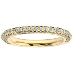 14K Yellow Gold Louise Diamond Ring '1/2 Ct. tw'