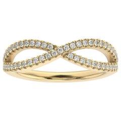14k Yellow Gold Marielle Diamond Ring '1/4 Ct. tw'
