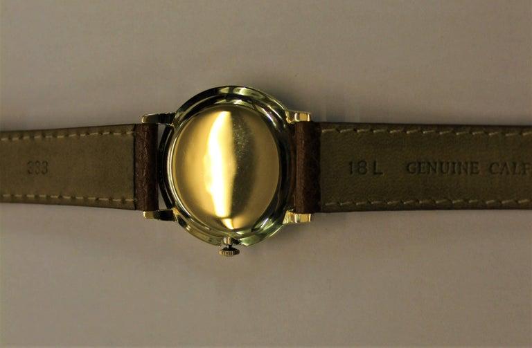 14-Karat Yellow Gold Rolex Men's Dress Watch For Sale 11