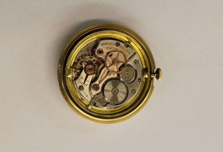14-Karat Yellow Gold Rolex Men's Dress Watch For Sale 3