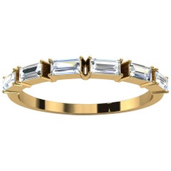 14k Yellow Gold Telara Baguette Diamond Ring '1/3 Ct. Tw'