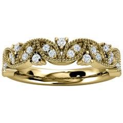 14K Yellow Gold Vera Diamond Ring '1/5 Ct. Tw'