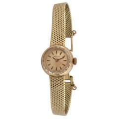 14 Karat Yellow Gold Vintage Certina Swiss Ladies Wristwatch