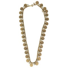 14KY Fancy Pearl Necklace