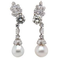 15 Carat Bvlgari Pearl Earring