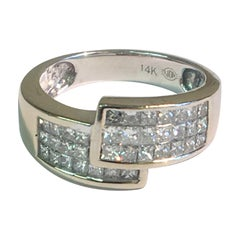 1.5 Carat Diamond Bypass Ring