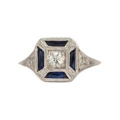 .15 Carat Diamond Platinum Engagement Ring