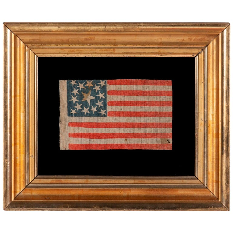 15 Star American Parade Flag, Kentucky Statehood For Sale