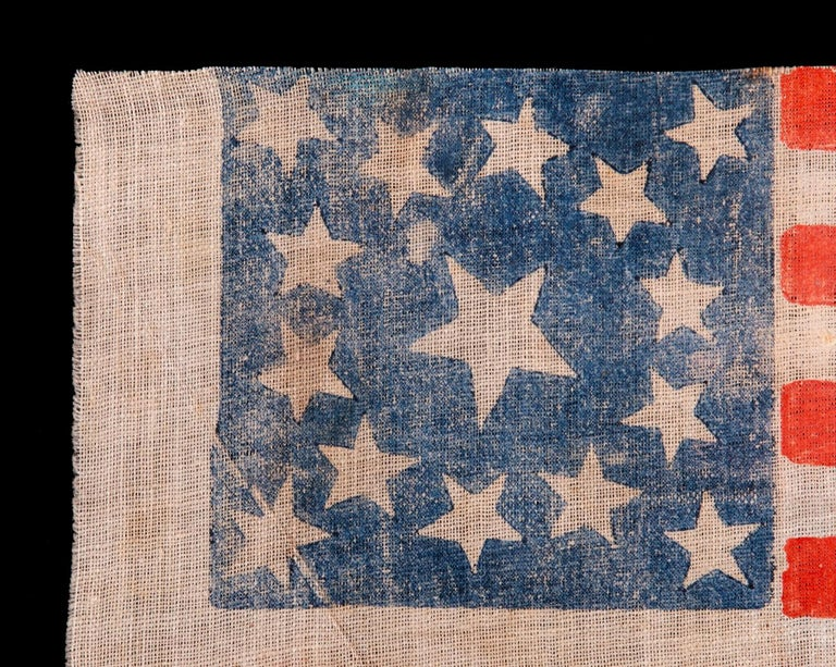 American 15 Star Parade Flag Made to Celebrate Kentucky Statehood or Glorify the South For Sale