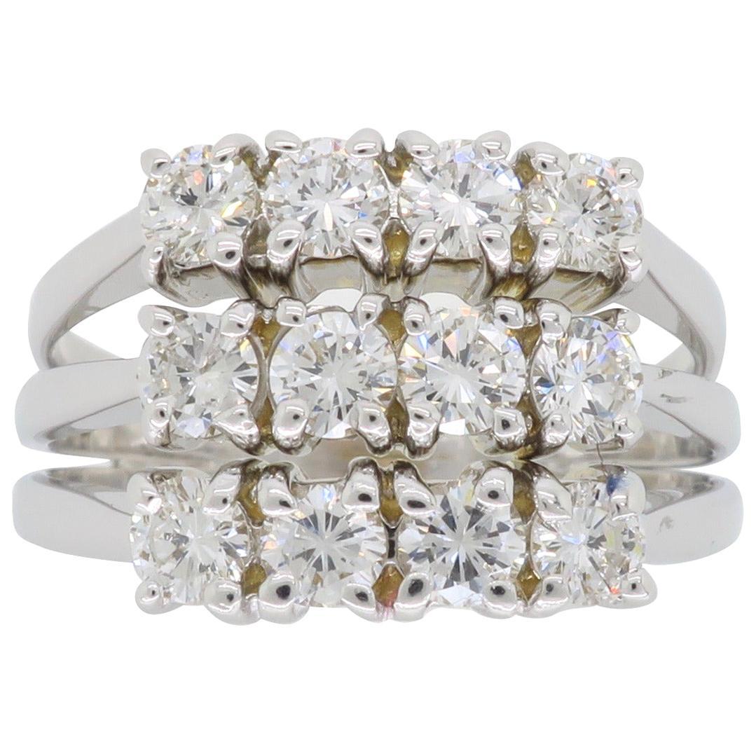 1.50 Carat Diamond Cocktail Ring