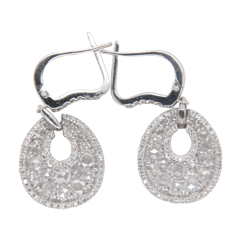 1.50 Carat Diamond Earring in 18 Karat Gold