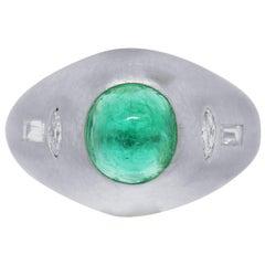 1.50 Carat Emerald Ring