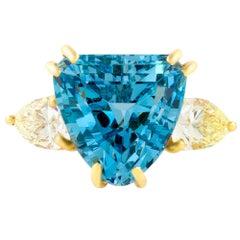 15.00 Carat Aquamarine Ring
