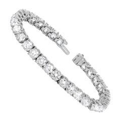 15.00 Carat Diamond Tennis Bracelet