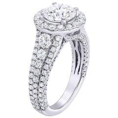1.51 Carat GIA Certified Diamond Engagement Ring