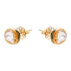 18th Century and Earlier Stud Earrings