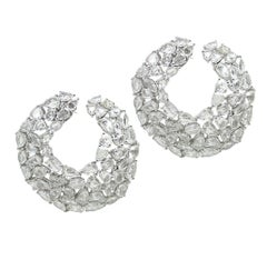 15.67 Carat Rose Cut Diamond Ring
