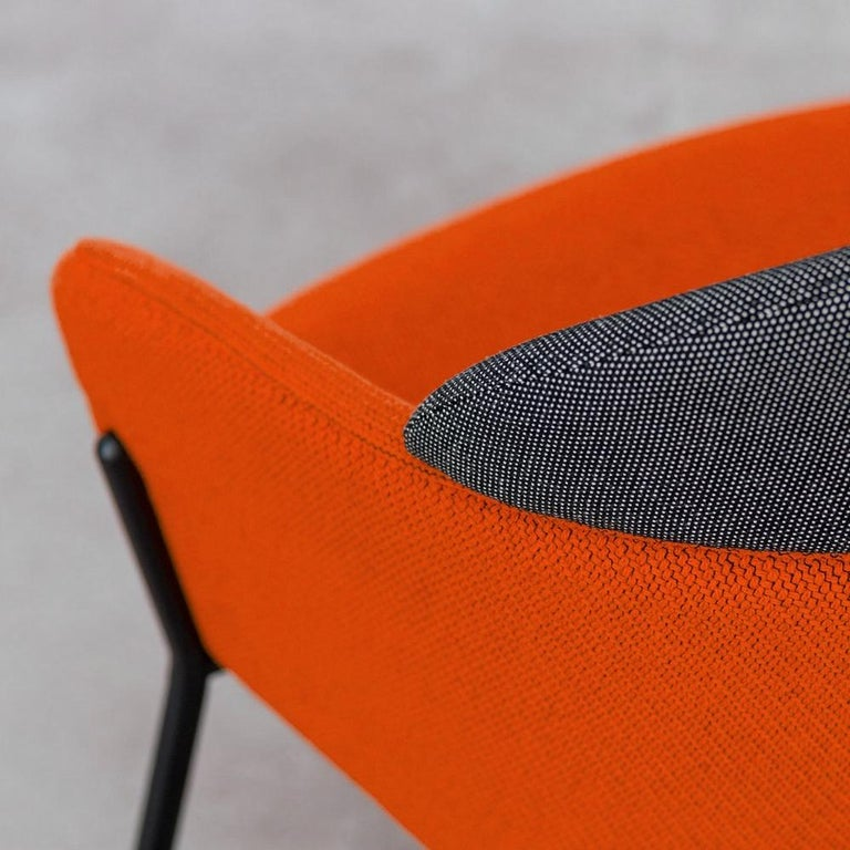 Modern Lounge chair, designed by Marco Zito For Sale