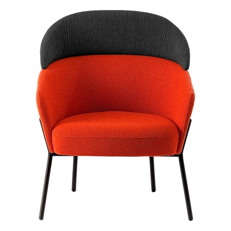 Lounge chair, designed by Marco Zito For Sale
