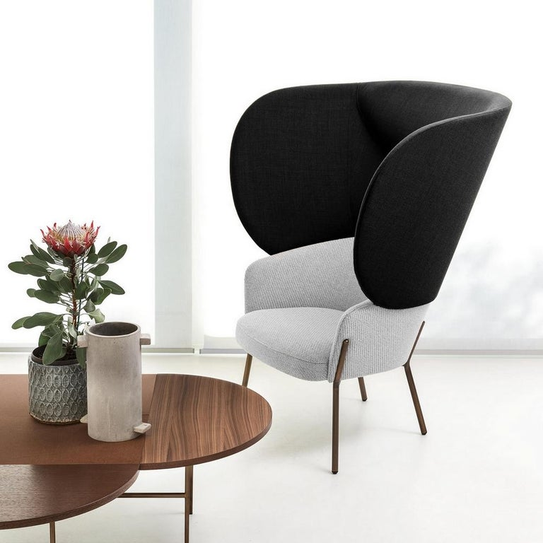 Brushed 1571 Chair by Marco Zito, Made in Italy For Sale