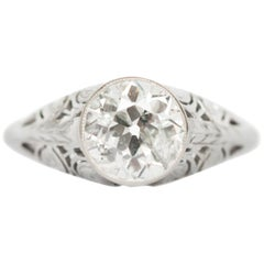 1.58 Carat Diamond Engagement Ring