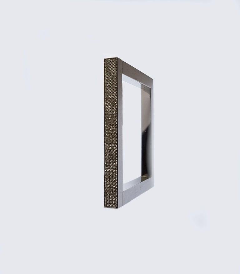 Henrich & Denzel 1.58 Carat Diamond Platinum Bangle Bracelet  For Sale 1