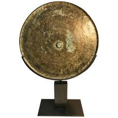 15th Century, Bronze ceremonial Mirror, Angkor Period, Art of Cambodia