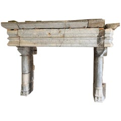 15th Century French Fireplace Mantel