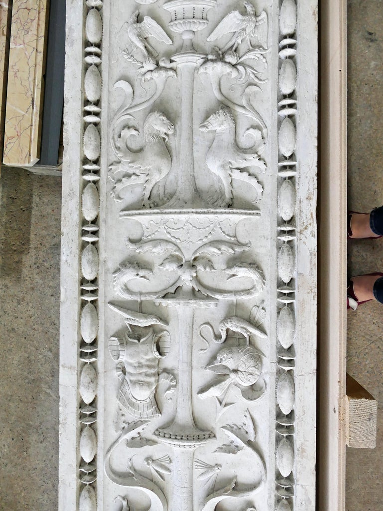 15th Century Pair of Italian Renaissance Pilasters For Sale 1