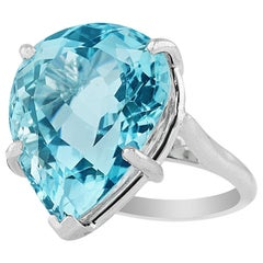 16 Carat Aquamarine Ring