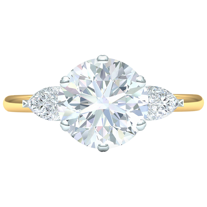 1.6 Carat GIA Certified G VVS2 Engagement Ring