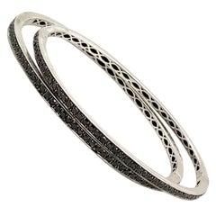 1.60 Carat Black Diamond Bracelet