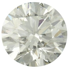 1.60 Carat Loose Diamond, Round Brilliant Cut GIA Graded SI2 I Solitaire