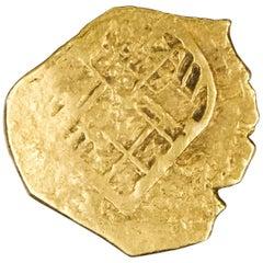 "1611 Spanish 2-Escudo ""Doubloon"" Gold Cob Coin"