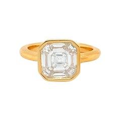 1.62 Carats Diamond Ring