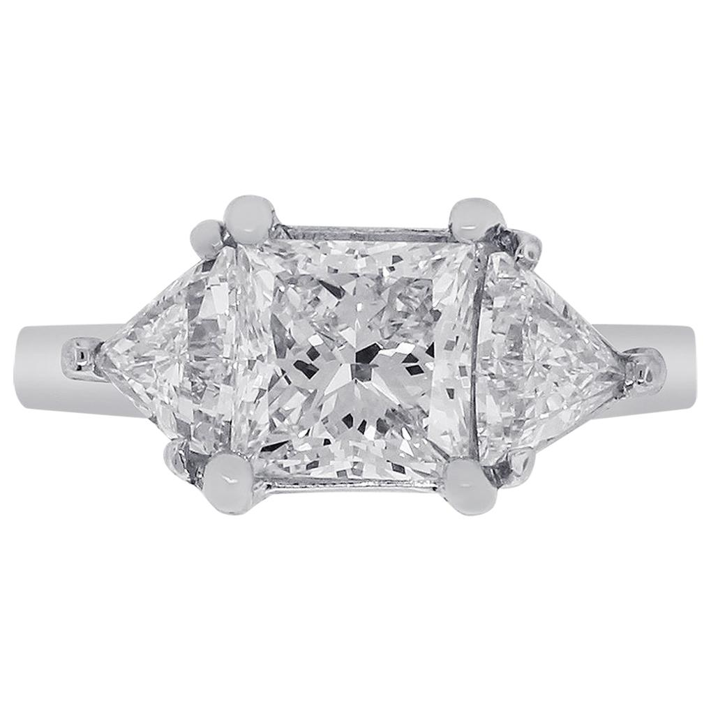 1.63 Carat GIA Certified Diamond Engagement Ring