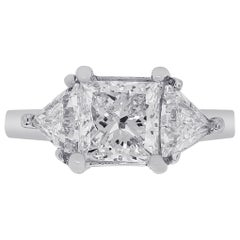1.63 Carat GIA Certified Diamond Engagement Ring