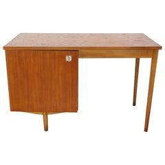 """1650s Design Teak Wooden Desk by """"Combineurop"""""""