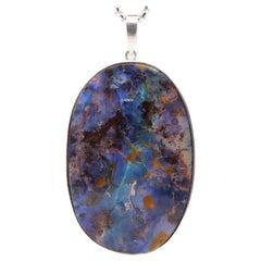 165.41 Carat Oval Opal Pendant