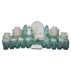 166 Pc Taylor Smith Taylor Ever Yours Boutonniere China Dinnerware Set Boho Chic