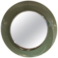 '1669' Model Circular Glass Mirror by Max Ingrand for Fontana Arte, Italy, 1960