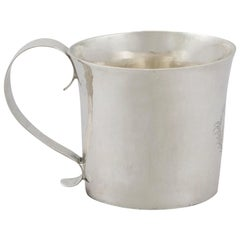 1673 Antique Sterling Silver Child's Mug