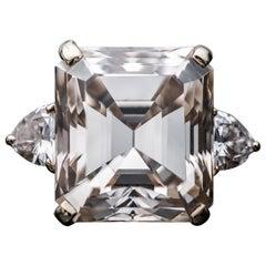 16.77 Fancy Light Brown Diamond Ring