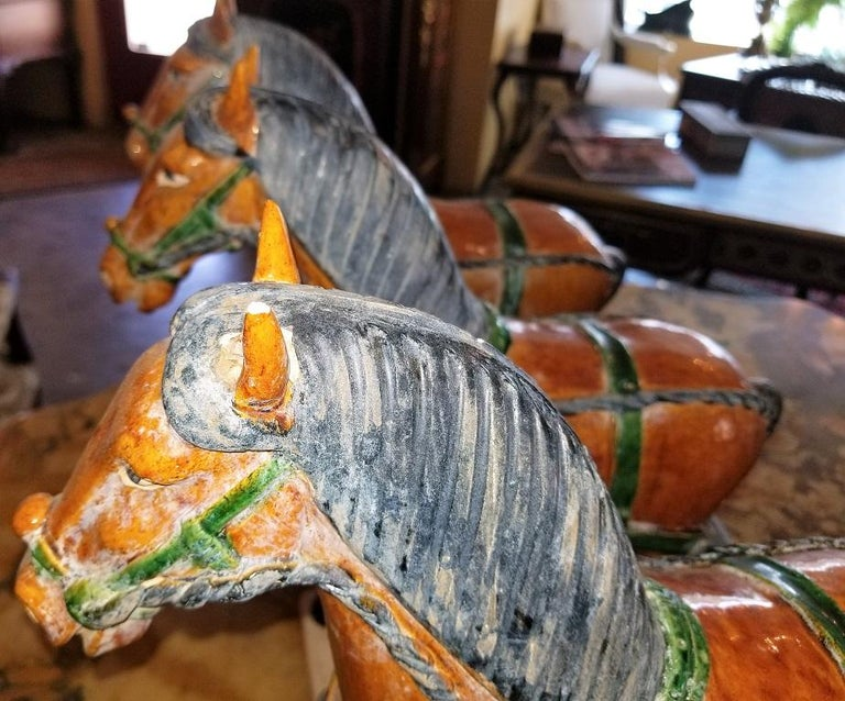 Ming Style Horses and Carriage For Sale 7