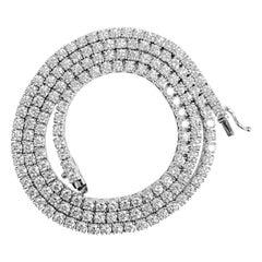 16ct VVS Diamond Tennis Necklace